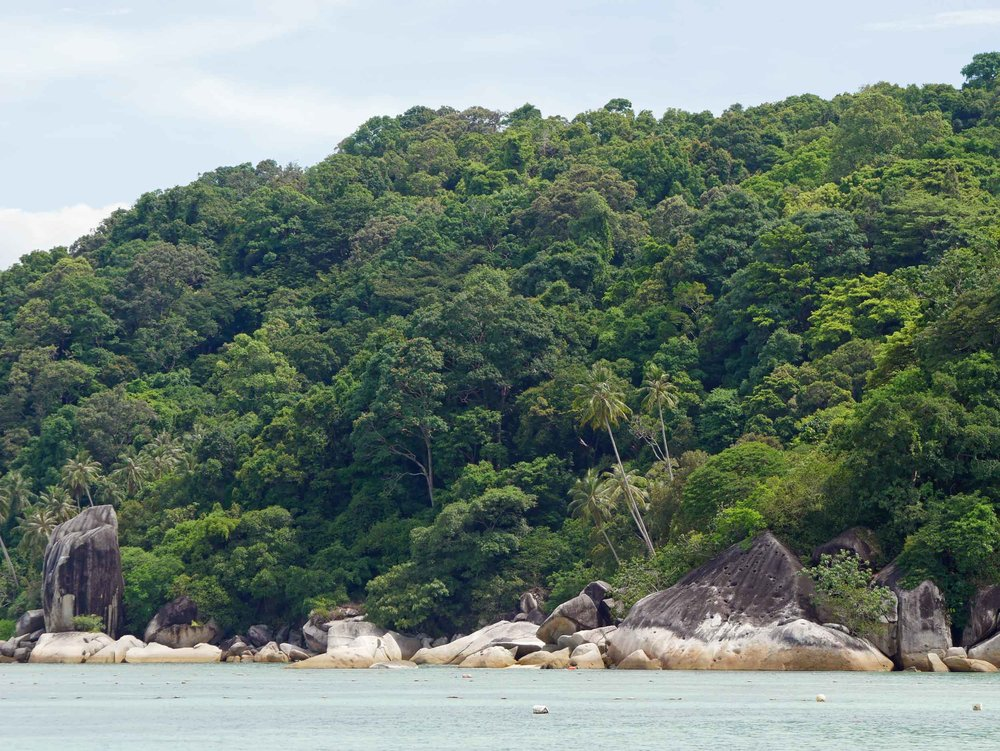 After the jungles of Borneo, we headed just off the east coast of the Malaysian Peninsular to the magical Perhentian Islands (May 7).