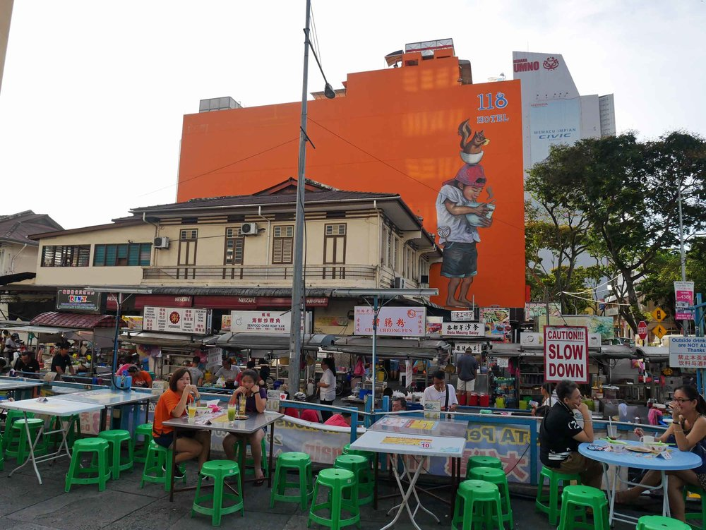 With all the healthy eating, we once again hit the streets, this time at the New Lane Hawker Stalls.