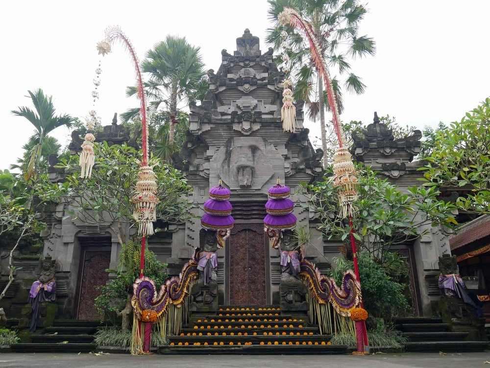 Full of yoga studios and health cafes, Ubud is also known for its many sacred temples that dot the area.