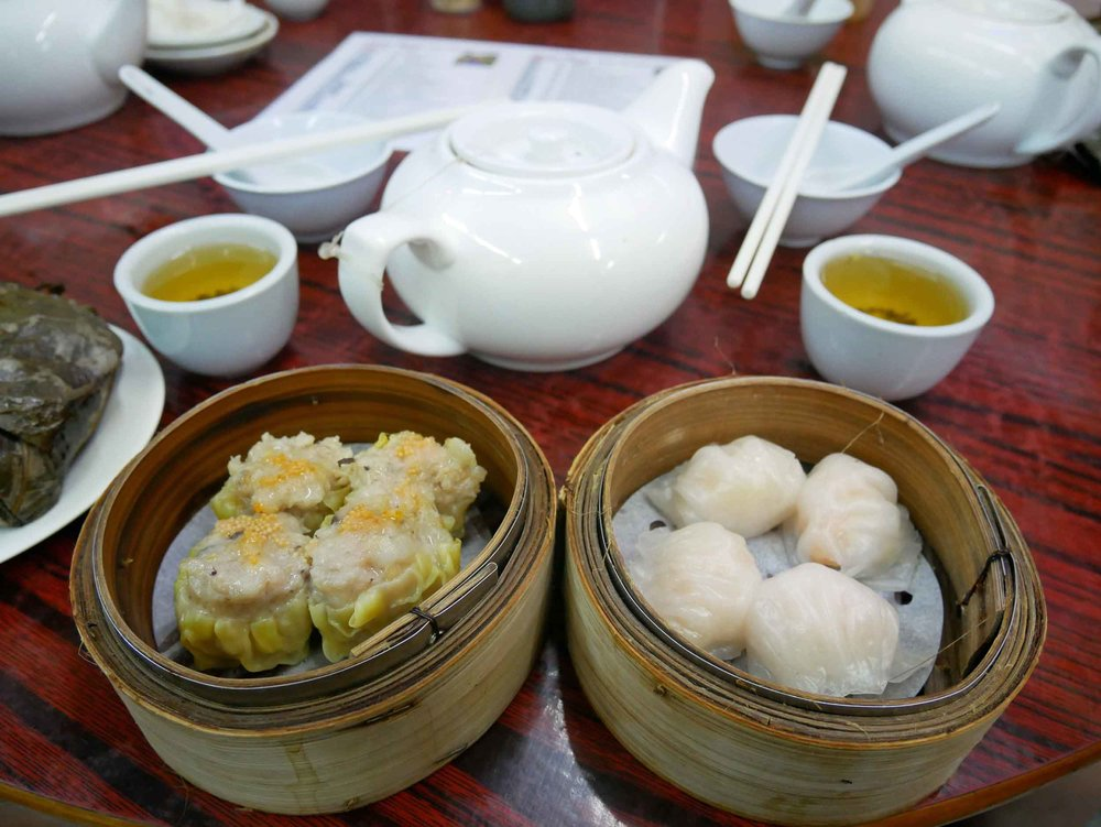 Nothing like oodles of steamed dumplings to kick-start your day.