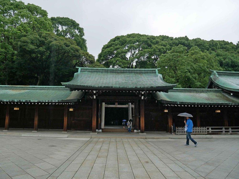 Meiji-jingu Shrine compound