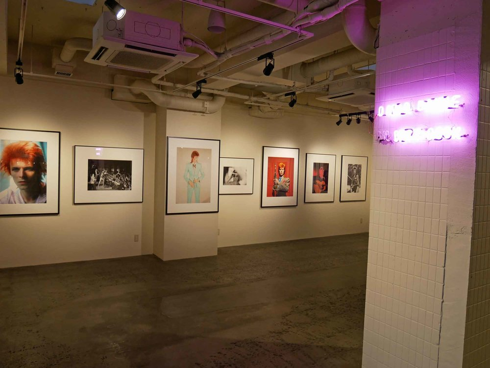 Part art gallery, Anteroom was hosting a new exhibition by rock-n-roll shutterbug Mick Rock.
