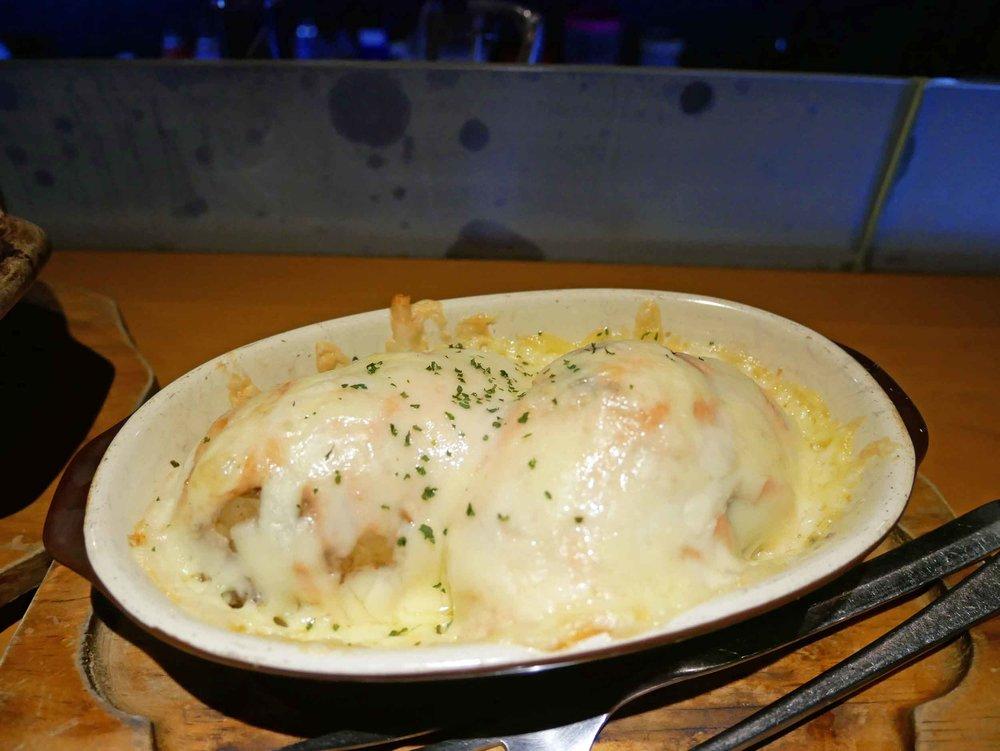Cheesy potatoes? Why not!