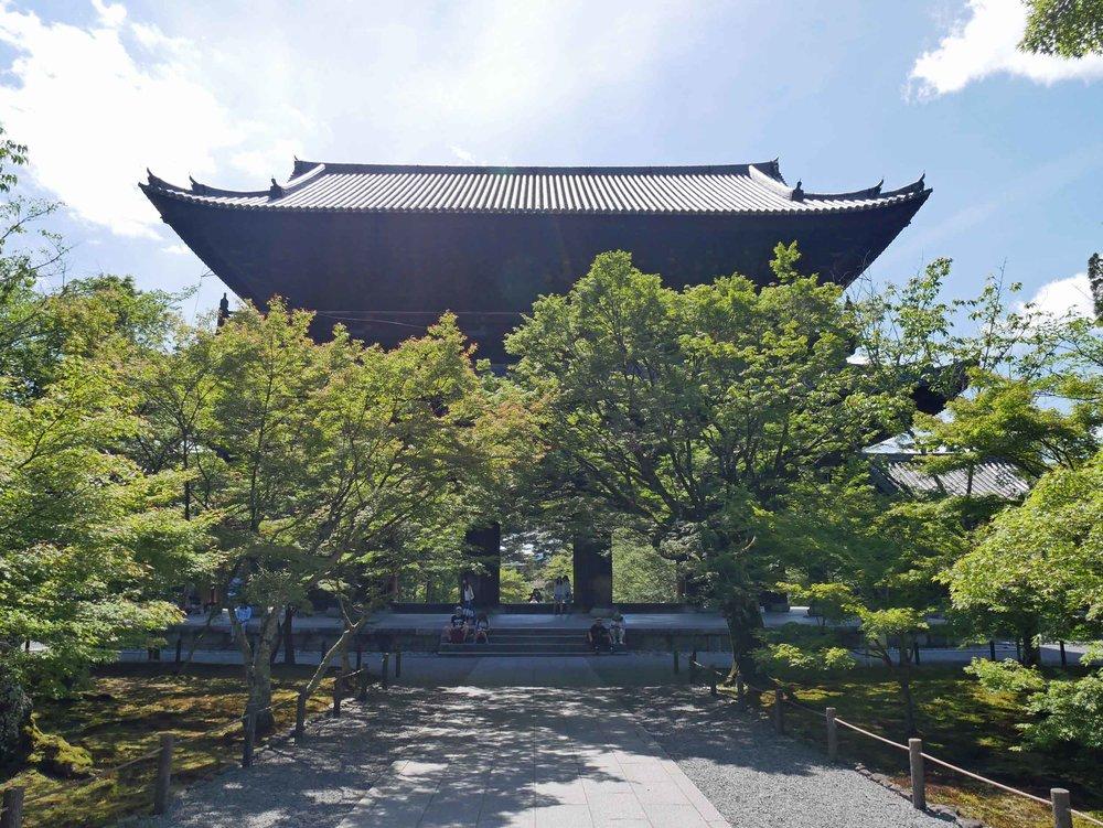Zenned out in Nanzen-ji.