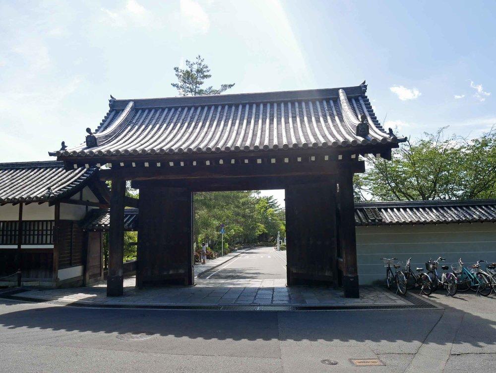 Gorgeous gates greet you at the entrance of Nanzen-ji temple complex.
