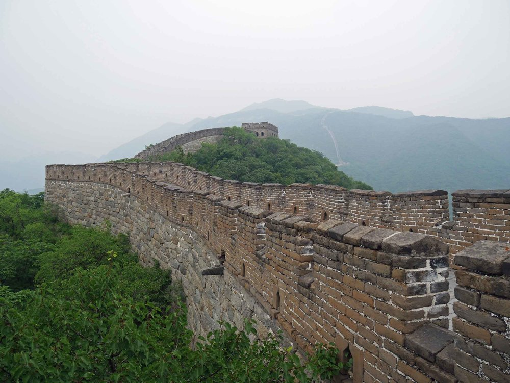 We spent longer on the Wall that excepted, just staring at the ingenuity of humanity to create something so extensive.