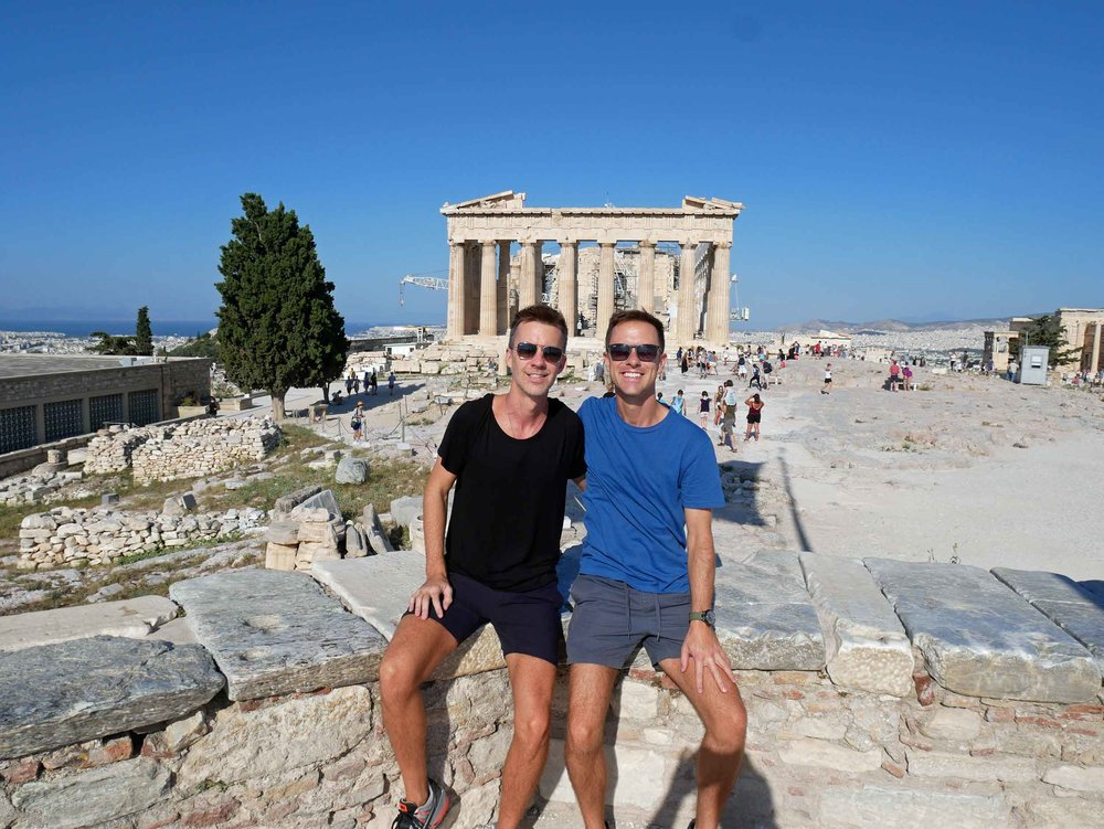 We stayed for hours marveling the ancient ruins.