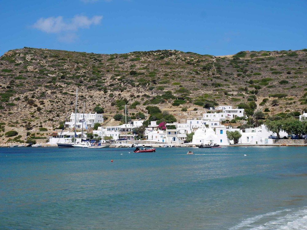 Vathi is an old fishing village that until the late 90s was only accessible by boat (or donkey), lending to its laid back nature.