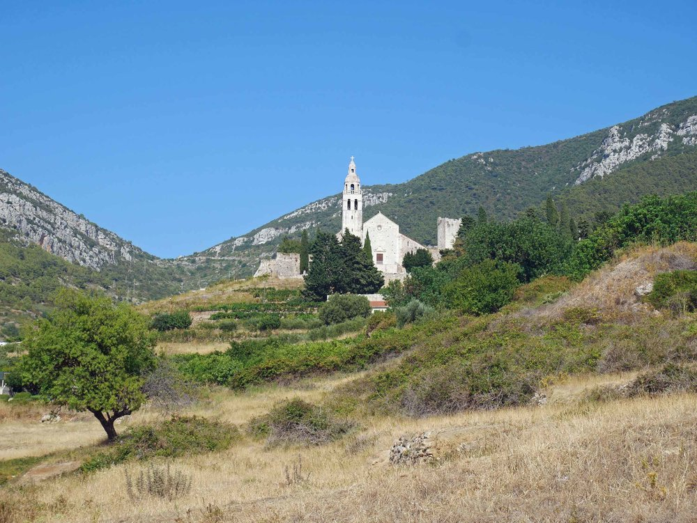 Not only was the old village quaint but beautiful churches and buildings dotted the landscape across the island.