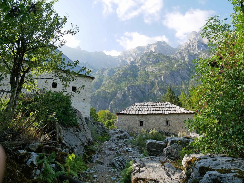 Quaint and charming Valbona, Albania, sits in Valbonë Valley National Park in the country's northern corner and is home to less than 1,000 permanent reisdents.