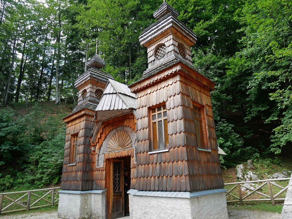"We drove toward Vršič Pass on what is now known as the ""Russian Road"" for the one-time POWs who helped build it along with small Orthodox chapels."