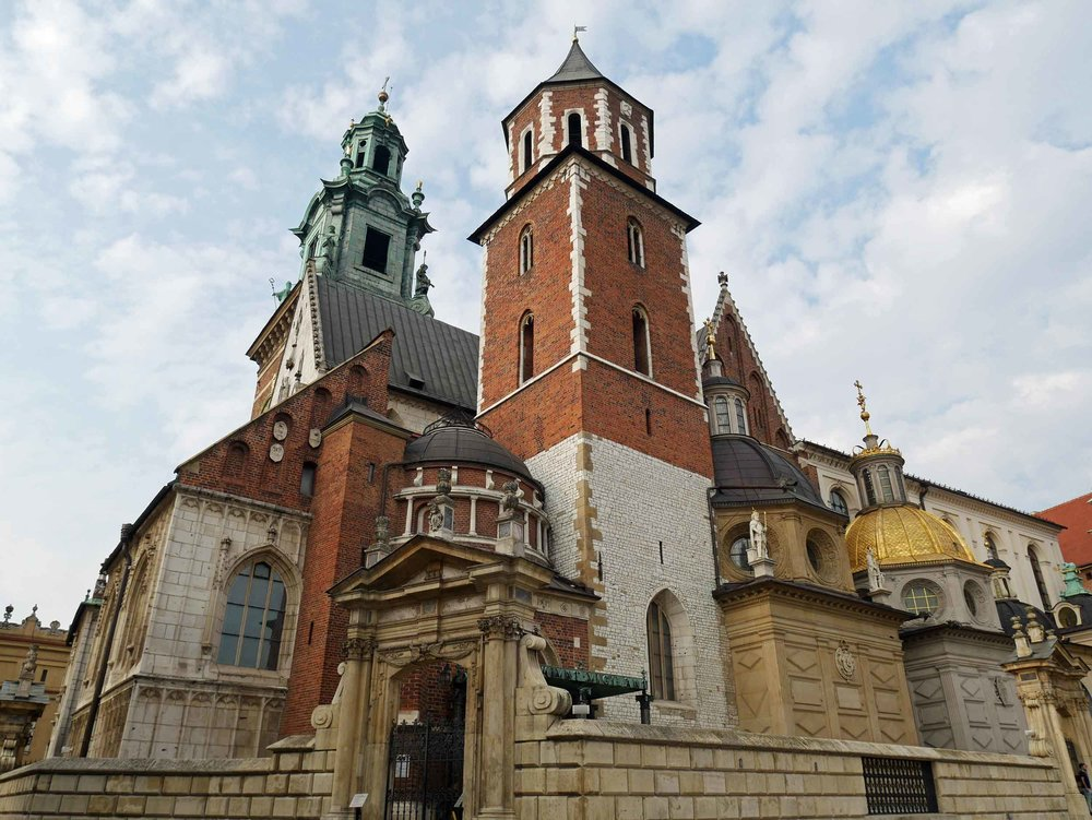 Since it's origin in the 11th century, Wawel – or known simply as The Royal- Cathedral has witnessed many coronations, funerals and burials of Poland's monarchs and strongmen.