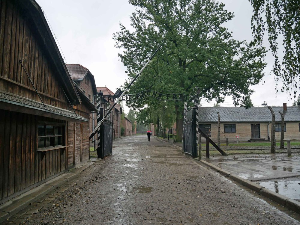 "The gates to hell at Auschwitz Concentration Camp read, ""Arbeit macht frei"" is a German phrase meaning ""work sets you free"" (Sept 3)."