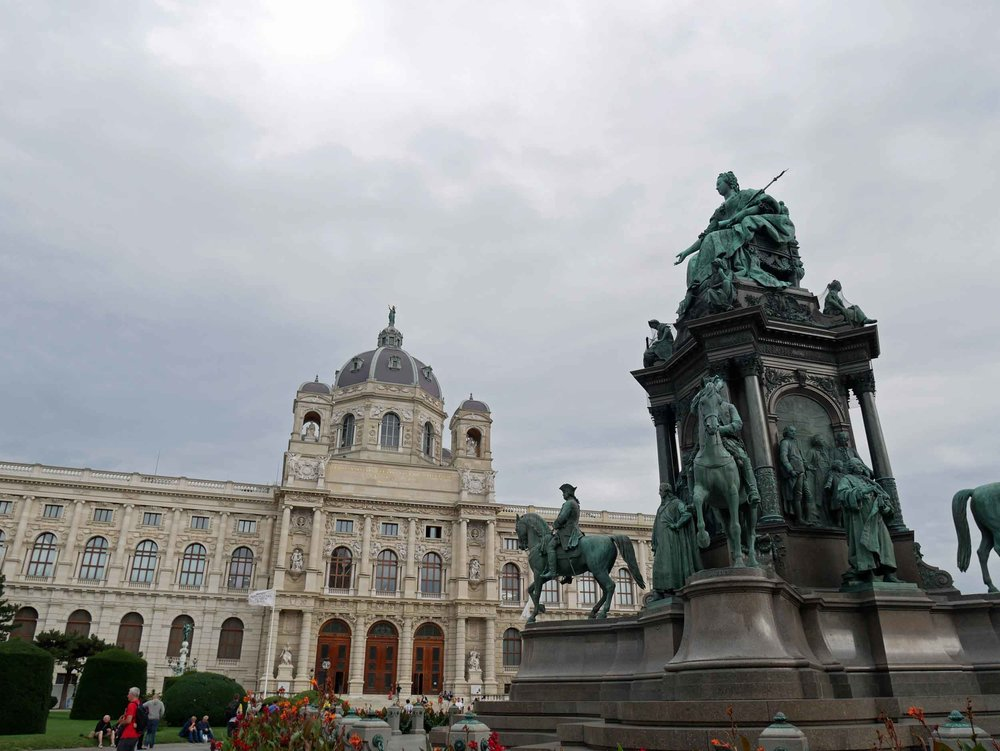 The impressive Museum of Natural History Austria houses some 30 million+ objects