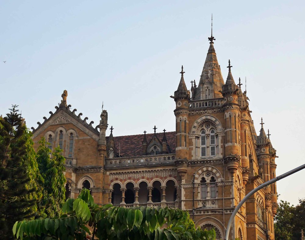 Another glorious example of the heritage architecture found throughout Mumbai.