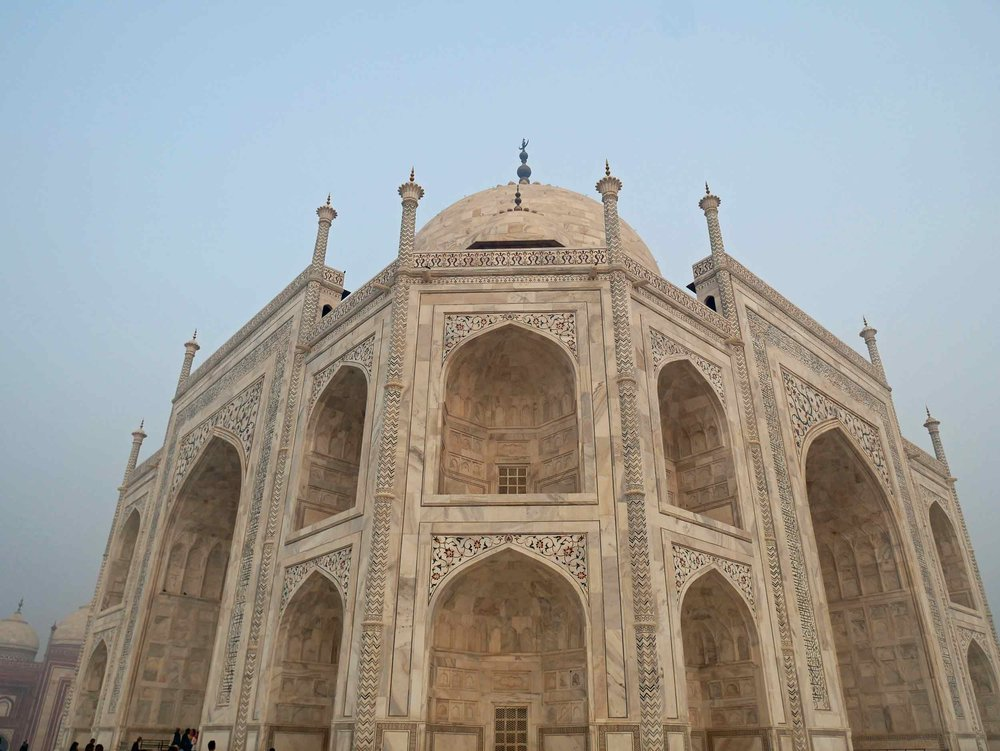 "The Taj Mahal was designated a UNESCO World Heritage Site in 1983 for being ""the jewel of Muslim art in India and one of the universally admired masterpieces of the world's heritage""."