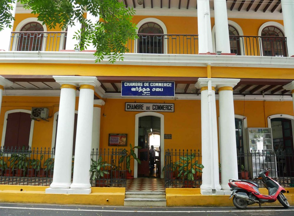 French heritage is alive and well in the charming old town of Pondicherry, which has worked to restore the colonial buildings.