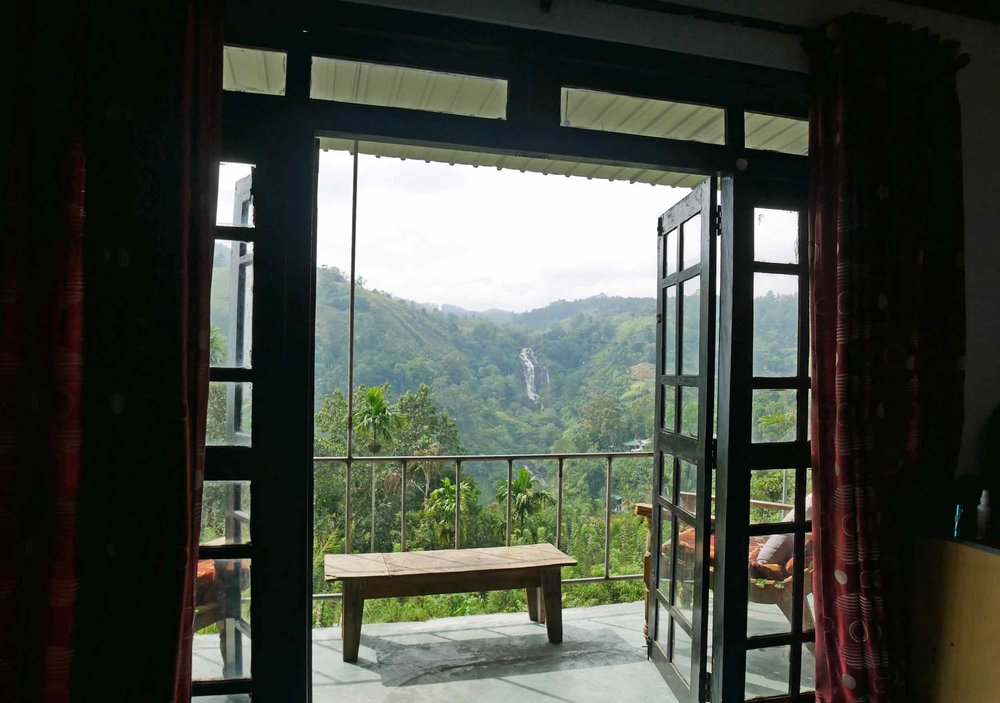 You can't beat the views from here at Village View Homestay in Ella!