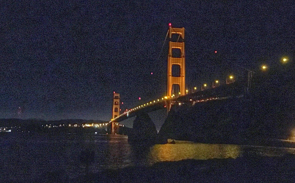 The Iconic Golden Gate Bridge \ Photo by Emily Scott