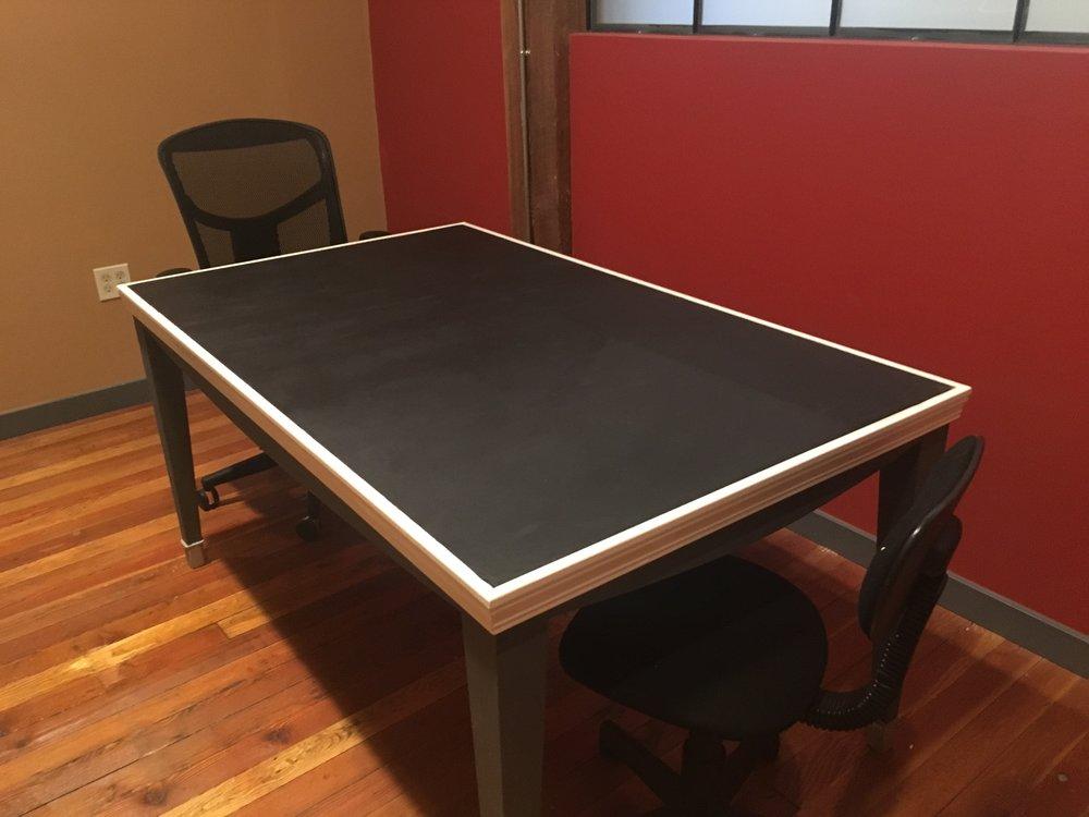 The Chalkboard Table
