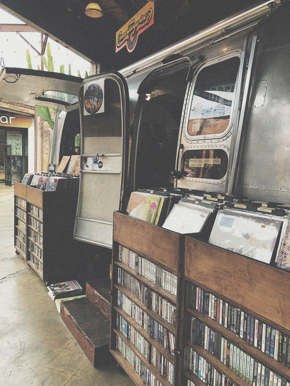 "Music Pop Up Shops - ""The Camp"" Costa Mesa"