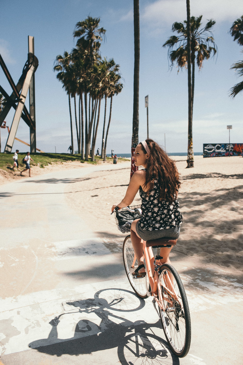 Bike Ride in Venice Beach - Venice Boardwalk