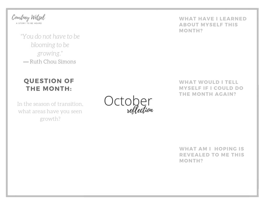 OctoberReflection