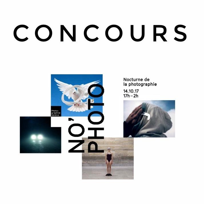 Du 16 au 22.10.17 - No'Photo, 1ère nocturne de la photographie à Genève, c'était ce samedi 14 octobre 2017 dans divers lieux culturels.La Ville de Genève, @photographiegeneve sur instagram, et @iGersGeneva s'associent pour un concours clin d'oeil au titre du festival: