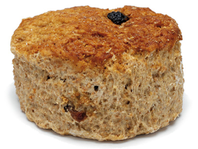 Wholemeal Scone   Back to basics with this Irish classic. A healthier, wholesome version of the scone, this works very well slathered in thick jam, or dipped into a bowl of steaming, creamy soup.  125g – 30 per batch   Item Number: 5083   Also available par baked.   Item Number: M5089