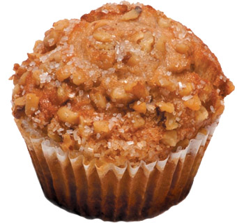 Banana Walnut Muffin   Looking for traditional banana muffin everyone will enjoy? The search stops here! Made with freshly mashed bananas which keeps it moist, sweet and delicious.   Item Number – 1708