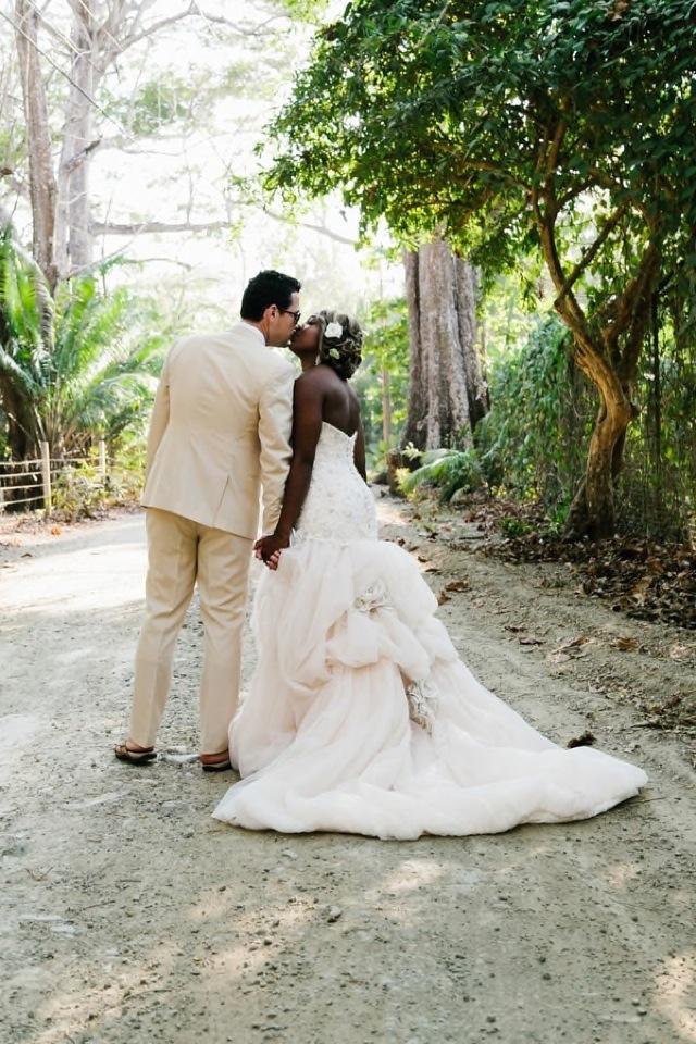 Amazing Costa Rica Destination Wedding captured by ABrit&ABlonde Photography. See more of Emmanuelle + Alex's wedding album here!