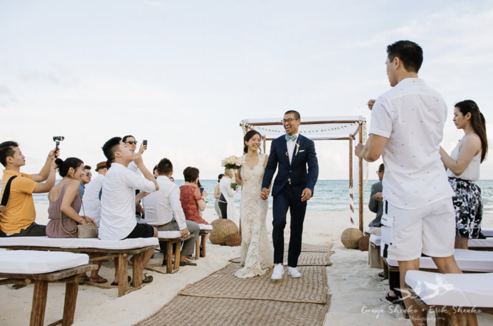 WHEN  is your destination wedding?   💕 Photo courtesy of Shenko Photo - See this Playa del Carmen, Mexico Desti Wedding's gallery  here