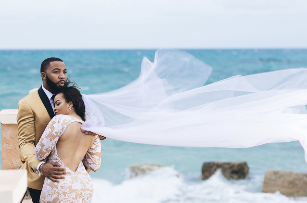 WHY  are you saving this money for you destination wedding?  💕Photo courtesy of Stanlo Photography - See this Bahamas Desti Wedding's gallery  here