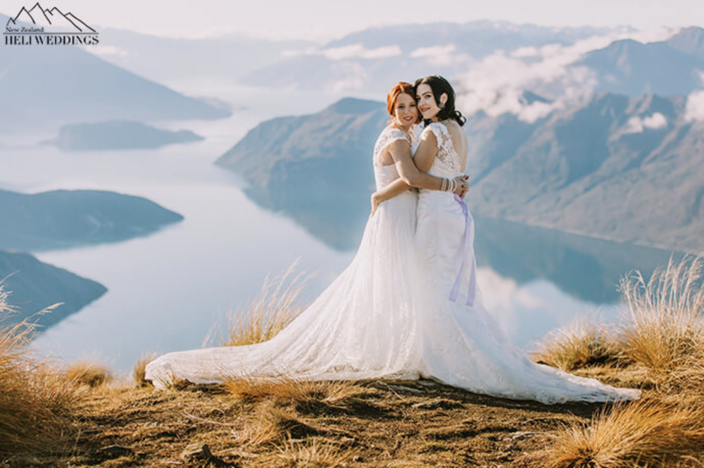 HOW  will you be paying for your destination wedding?  💕Photo courtesy of Heli Weddings NZ - See this New Zealand Desti Wedding's gallery  here