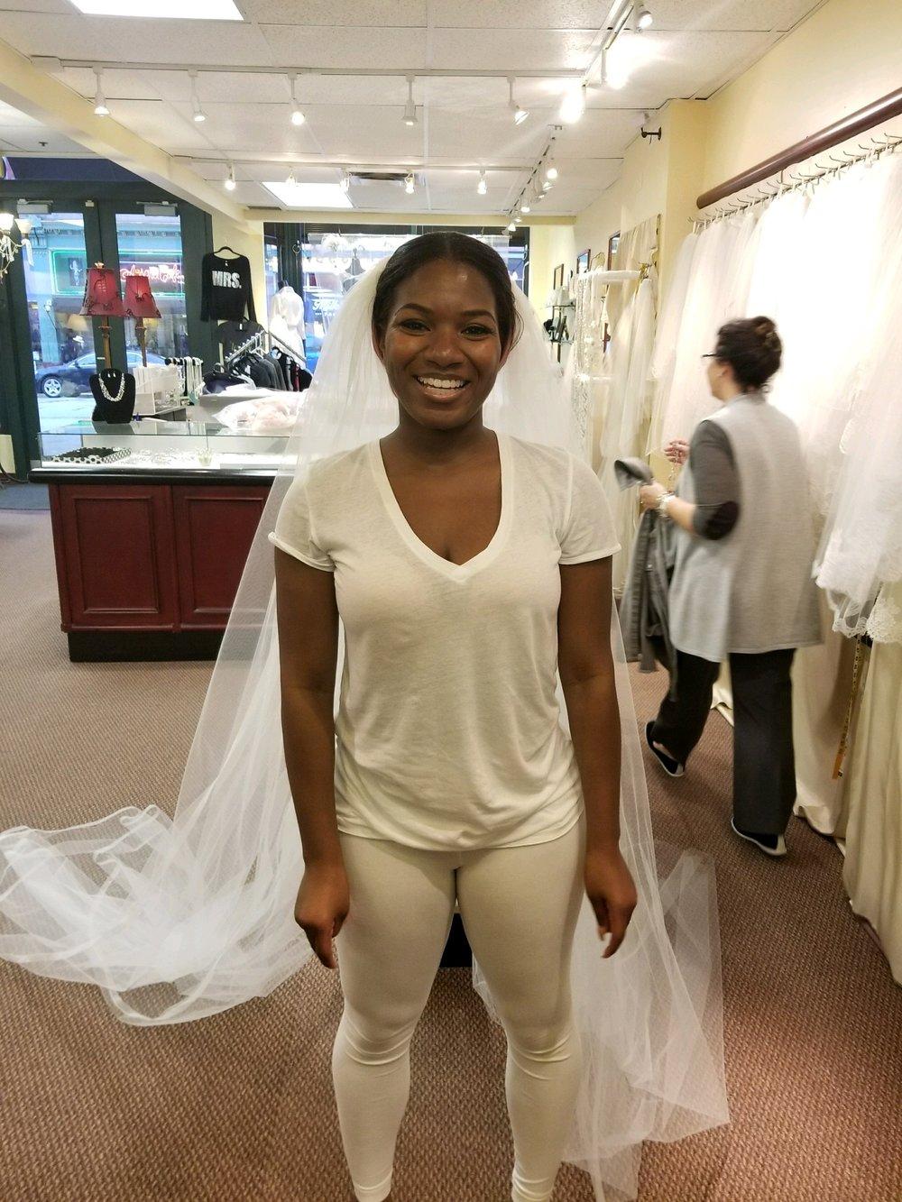 Black Destination Bride - BlackDesti Wedding Journal - Bridefriends Podcast -16 Headpiece 2 veils yes2.JPG