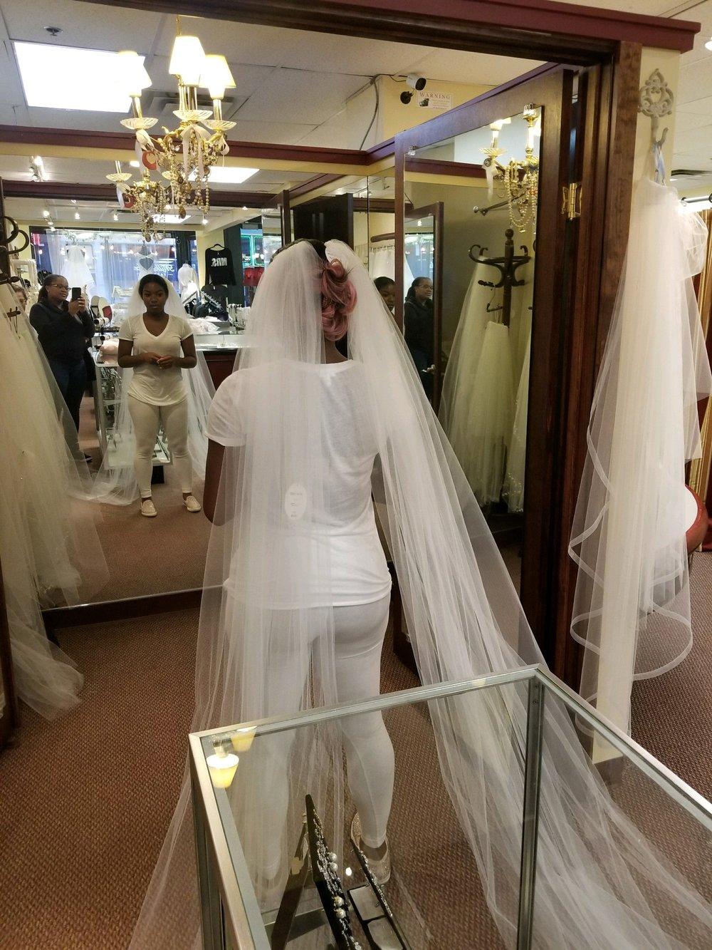 Black Destination Bride - BlackDesti Wedding Journal - Bridefriends Podcast -16 Headpiece 2 veils yes 3.JPG