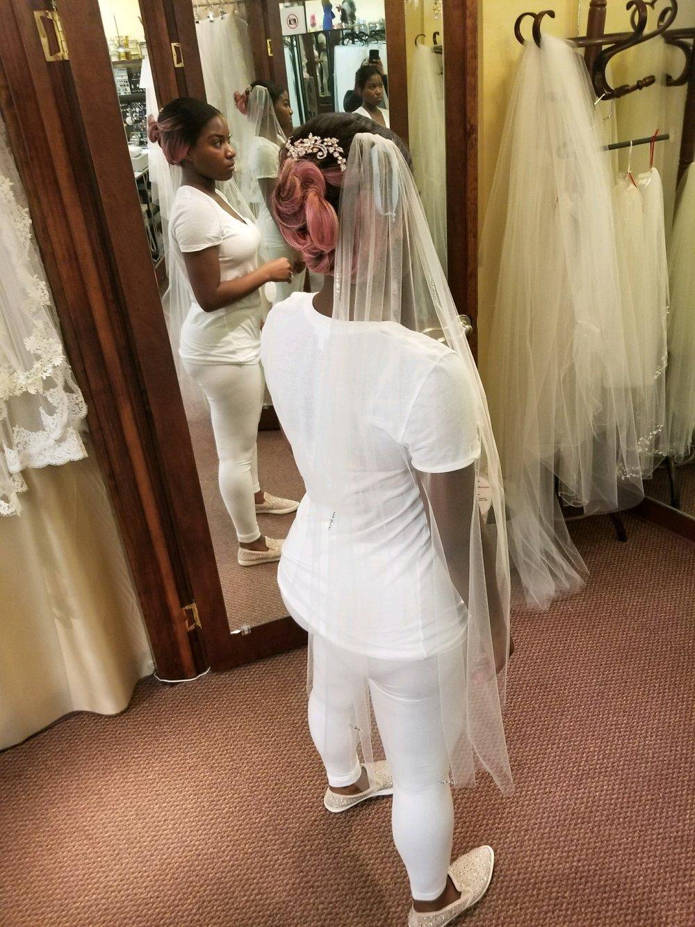 Black Destination Bride - BlackDesti Wedding Journal - Bridefriends Podcast -16 Headpiece 2 veils yes 9.JPG