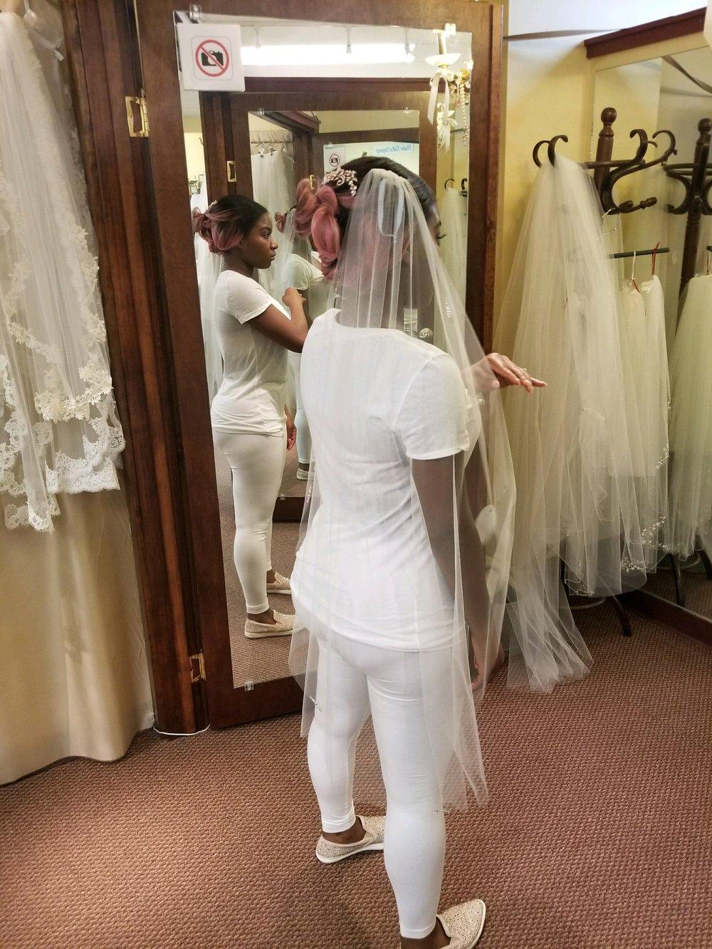 Black Destination Bride - BlackDesti Wedding Journal - Bridefriends Podcast -16 Headpiece 2 veils yes 10.JPG