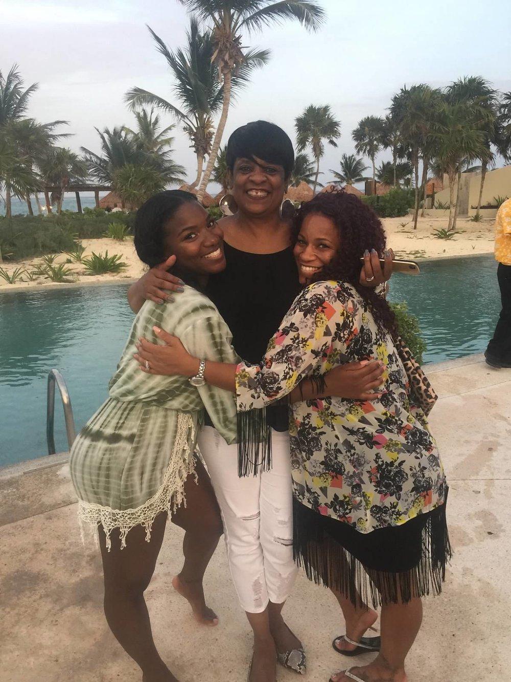Black Destination Bride - BlackDesti Wedding Countdown Journal - Bridefriends Podcast - 3 Playa del Carmen Mexico - Secrets Maroma Welcome Pool13.jpeg