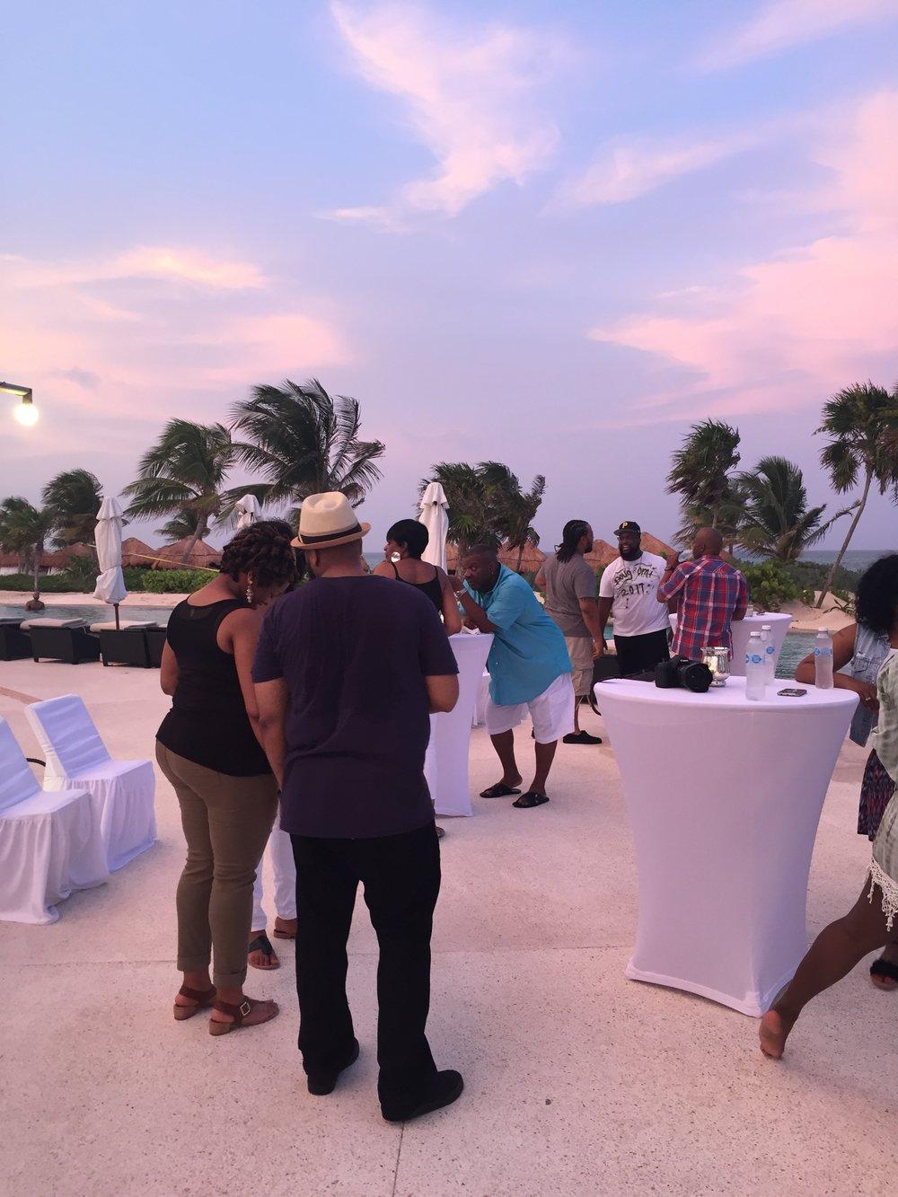 Black Destination Bride - BlackDesti Wedding Countdown Journal - Bridefriends Podcast - 3 Playa del Carmen Mexico - Secrets Maroma Welcome Pool5.JPG