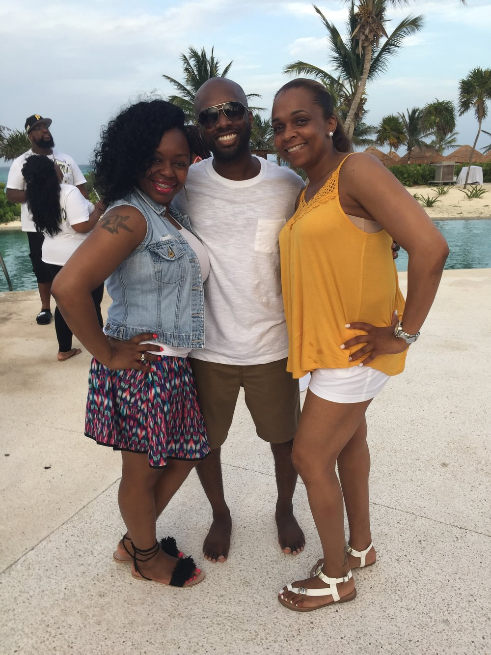 Black Destination Bride - BlackDesti Wedding Countdown Journal - Bridefriends Podcast - 3 Playa del Carmen Mexico - Secrets Maroma Welcome Pool7.JPG