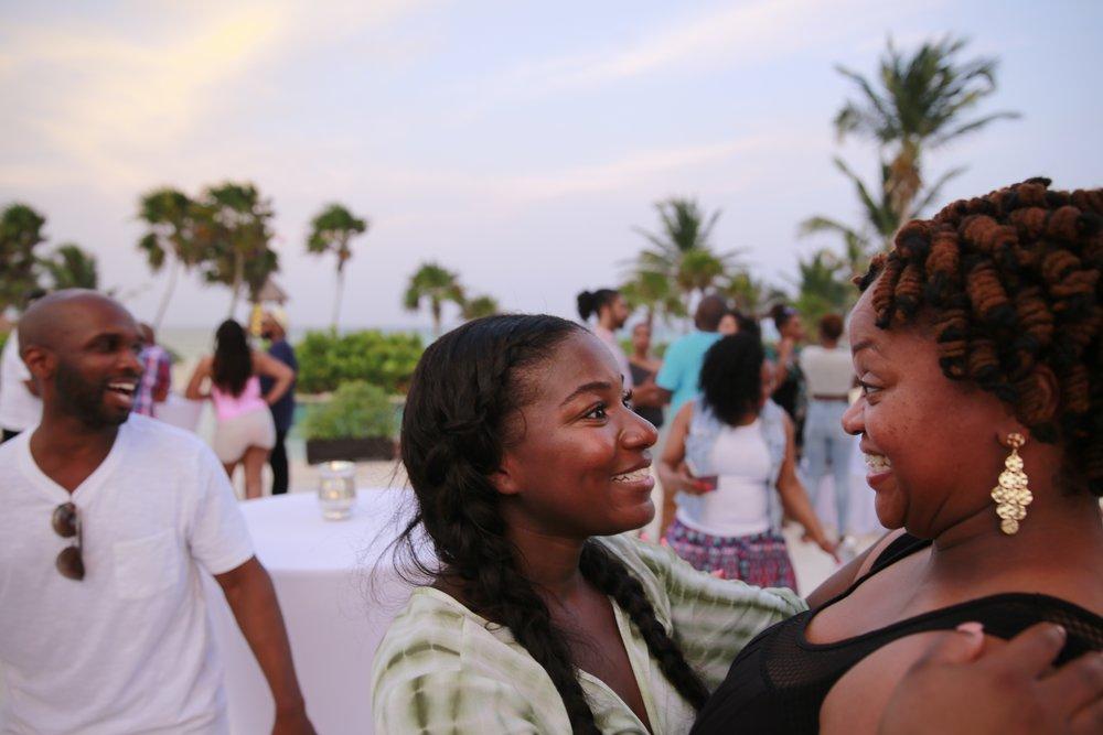 Black Destination Bride - BlackDesti Wedding Countdown Journal - Bridefriends Podcast - 3 Playa del Carmen Mexico - Secrets Maroma Welcome Pool 3.jpg