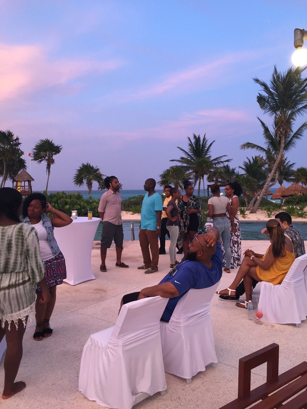 Black Destination Bride - BlackDesti Wedding Countdown Journal - Bridefriends Podcast - 3 Playa del Carmen Mexico - Secrets Maroma Welcome Pool15.JPG