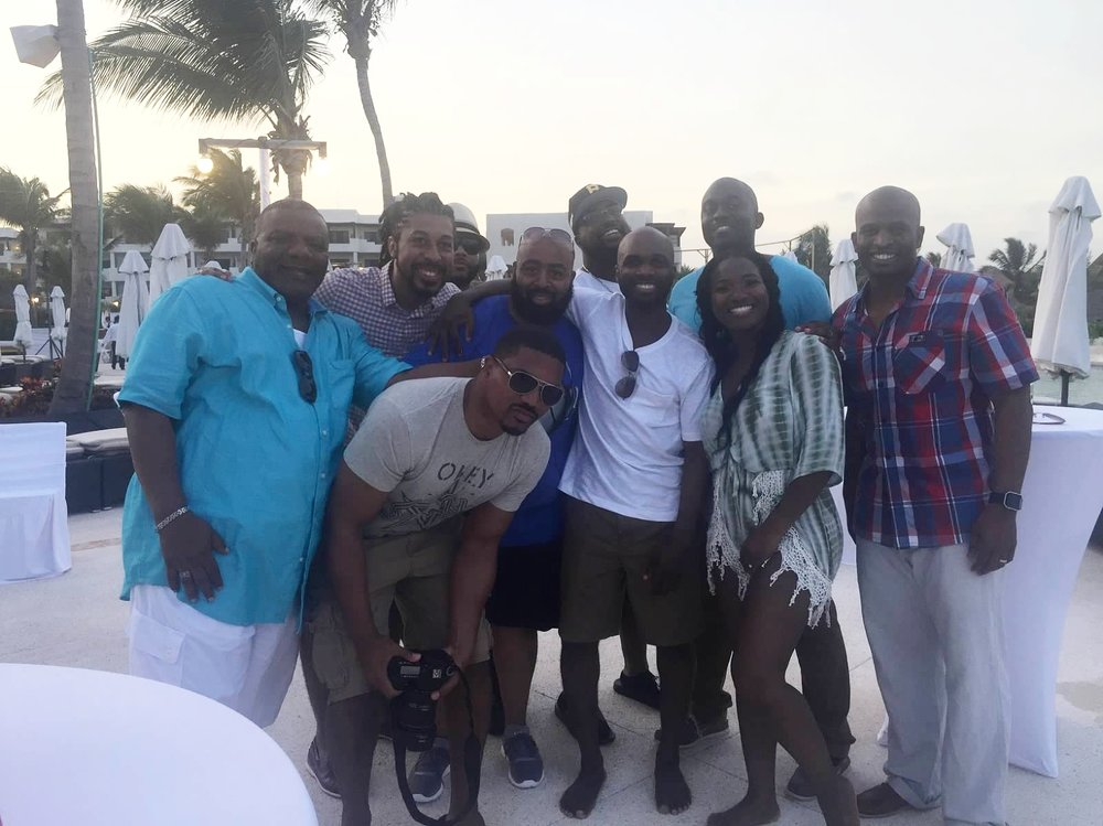Black Destination Bride - BlackDesti Wedding Countdown Journal - Bridefriends Podcast - 3 Playa del Carmen Mexico - Secrets Maroma Welcome Pool11.jpeg