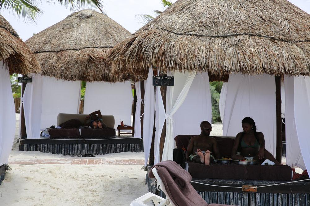 Black Destination Bride - BlackDesti Wedding Countdown Journal - Bridefriends Podcast - 1 Playa del Carmen Mexico - Secrets Maroma beach1.JPG