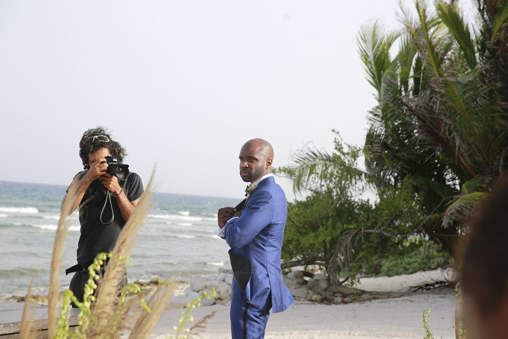 Black Destination Bride - BlackDesti Wedding Countdown Journal - Bridefriends Podcast - 0 Playa del Carmen Mexico - Blue Venado - Shenko Photography - Che Pre-Ceremony DAMN!!! .JPG