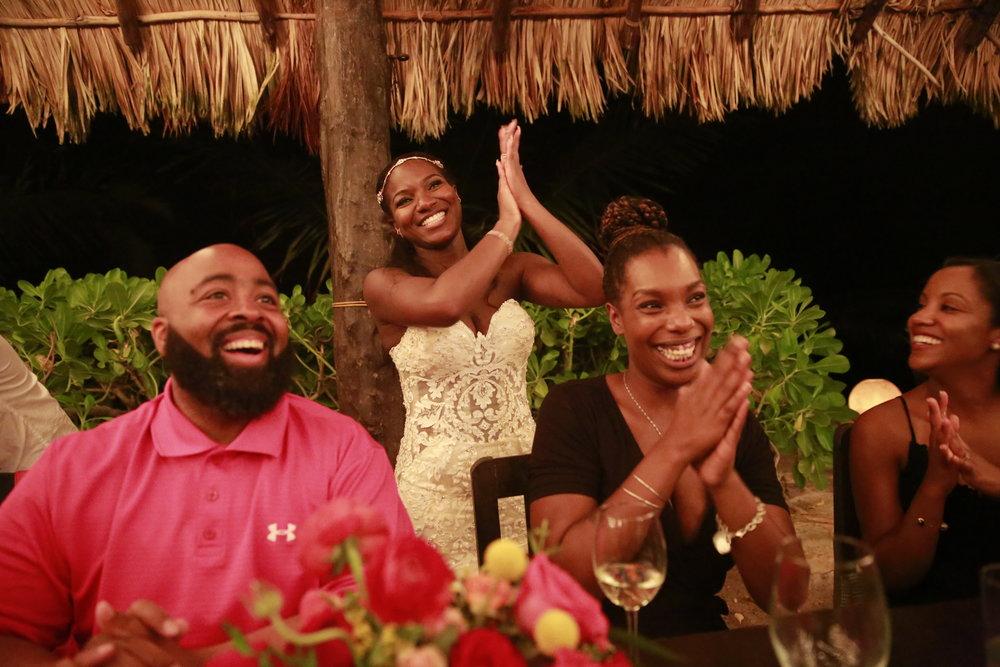 Black Destination Bride - Bridefriends Guide to Destination Weddings Podcast - BlackDesti Countdown - Blue Venado Beach Club - Shenko Photography - Mexico Wedding Eve of Milady 1560 Omi Clap Reception2.JPG