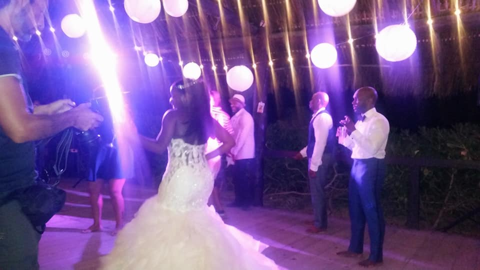 Black Destination Bride - Bridefriends Guide to Destination Weddings Podcast - BlackDesti Countdown - Blue Venado Beach Club - Shenko Photography - Mexico Wedding Reception Party Time.jpg