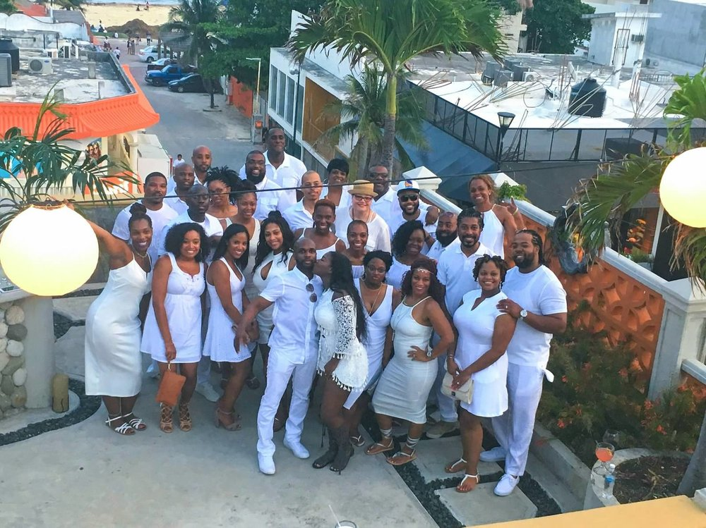 Black Destination Bride - BlackDesti Wedding Countdown Journal - Bridefriends Podcast - 1 Playa del Carmen Mexico - Carboncitos Rooftop Party Dinner.jpeg