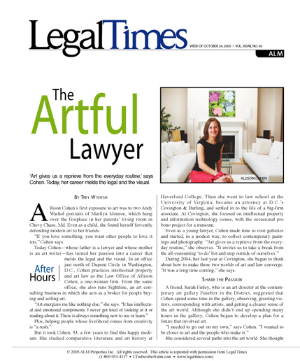 Legal Times <br> October 2005